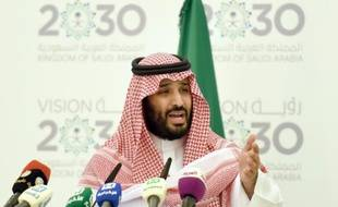 Le prince Mohammed ben Salmane à Riyad le 25 avril 2016.