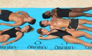 Le « Big », est un drap sur lequel six adultes peuvent s'allonger.