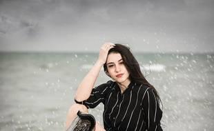 Chiara Bordi, handicapée et candidate au concours de Miss Italie 2019.