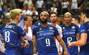 Earvin N'Gapeth et les Bleus jouent leur place aux JO contre l'Allemagne à Berlin vendredi soir.