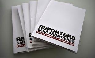 Image d'illustration de Reporters sans frontières.