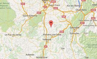 Le forcené aurait ouvert le feu dans le petit village de Tersanne dans la Drôme.