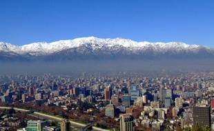 La capitale du Chili Santiago.