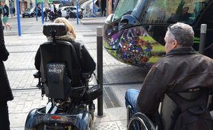 Prendre le tramway en fauteuil roulant sera l'une des expériences à relever.