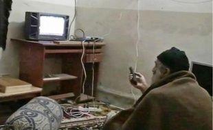 Cinq vidéos montrant Ben Laden ont été récupérées dans l'habitation où il se cachait.
