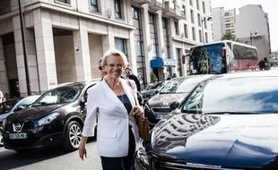Michèle Alliot-Marie, à Paris le 11 juillet 2017.