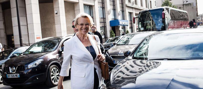 Michèle Alliot-Marie, à Paris le 11 juillet 2017.