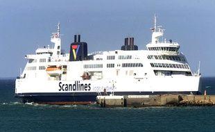 Illustration d'un ferry Scandlines.