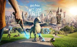 """Le jeu """"Harry Potter : Wizards Unite"""" permet d'explorer nos environs à la recherches d'objets ou de créatures magiques égarées."""