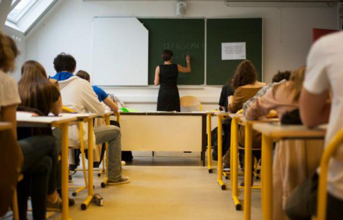 Une classe de collège (illustration). – FRED DUFOUR AFP