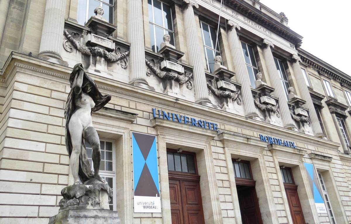 Illustration de l'université de Bordeaux. – E. Provenzano / 20 Minutes