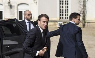 Emmanuel Macron à Angers le 28 mars 2019.