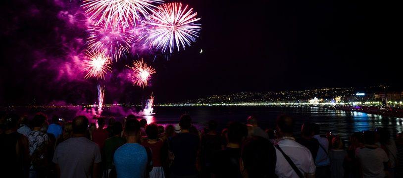 Le 15 août 2018, Nice a organisé le premier feu d'artifice sur la Promenade des Anglais depuis l'attentat meurtrier du 14 juillet 2016.