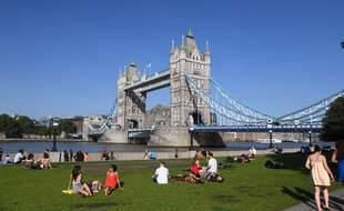 Tower Bridge à Londres. (Illustration)