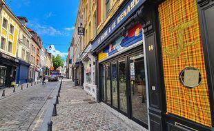 Aucune extension de terrasse n'est possible rue de Gand.