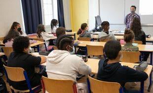 Dans une classe de 6e d'un collège des Hauts-de-Seine. (illustration)