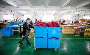Une usine en Chine dans la province de Guizhou, le 16 octobre 2020.