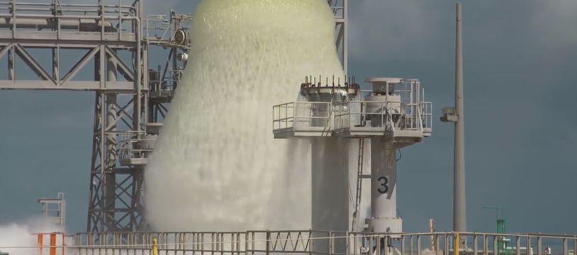 La NASA s'entraîne à lancer des fusées avec de l'eau - Le Rewind