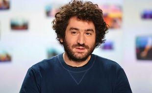 Mouloud Achour, présentateur de «Clique» sur Canal +