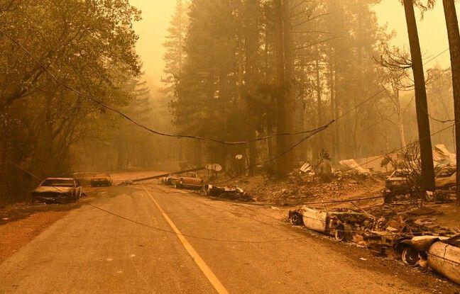 648x415 5400 soldats feu mobilises face flammes dixie fire forets nord californie