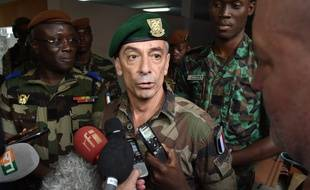 Le vice-amiral Laurent Isnard, chef du commandement des opérations spéciales, en charge de la libération de plusieurs otages au Burkina Faso.
