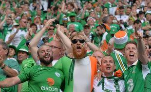 Des supporters de l'Irlande à Bordeaux, le 18 juin 2016.