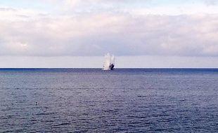 Une munition a été désamorcée au large de la promenade des Anglais, à Nice