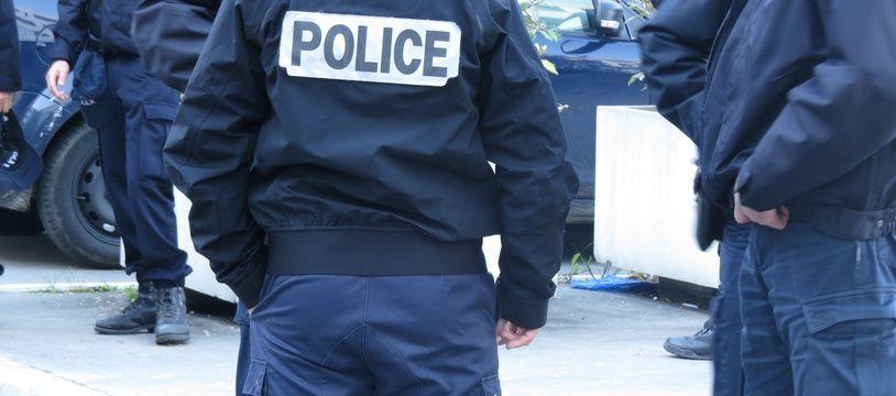 A Bordeaux le 21 novembre 2014, Illustration police.