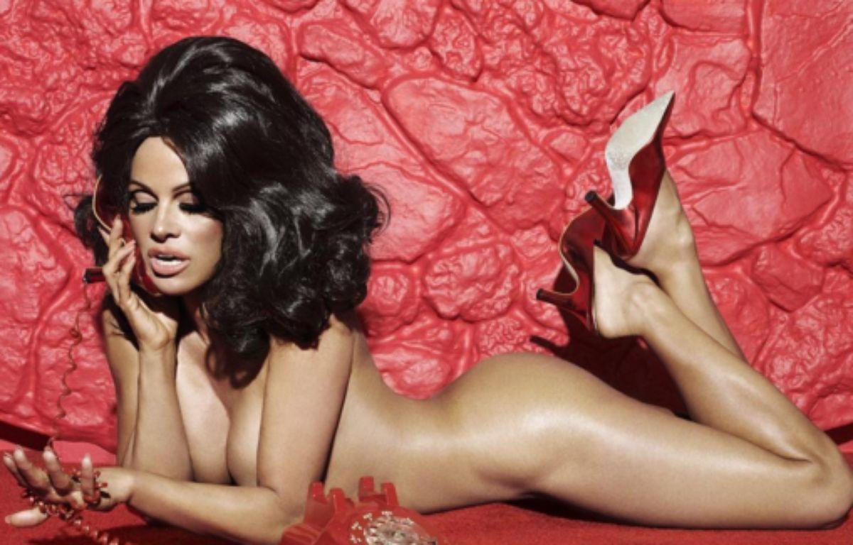 Pamela Anderson s'est mise à nu dans le magazine américain Paper pour défendre la cause animale. – Capture d'écran / Instagram
