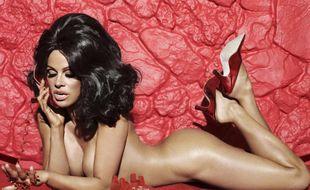 Pamela Anderson s'est mise à nu dans le magazine américain Paper pour défendre la cause animale.