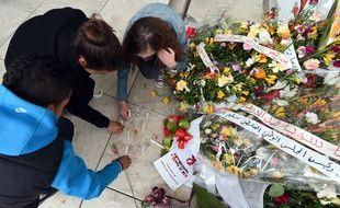 Cérémonie en mémoire des 22 victimes de l'attaque terroriste du musée du Bardo à Tunis.