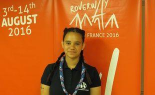 Rachel, 22 ans, fait partie du mouvement des scouts laïcs.
