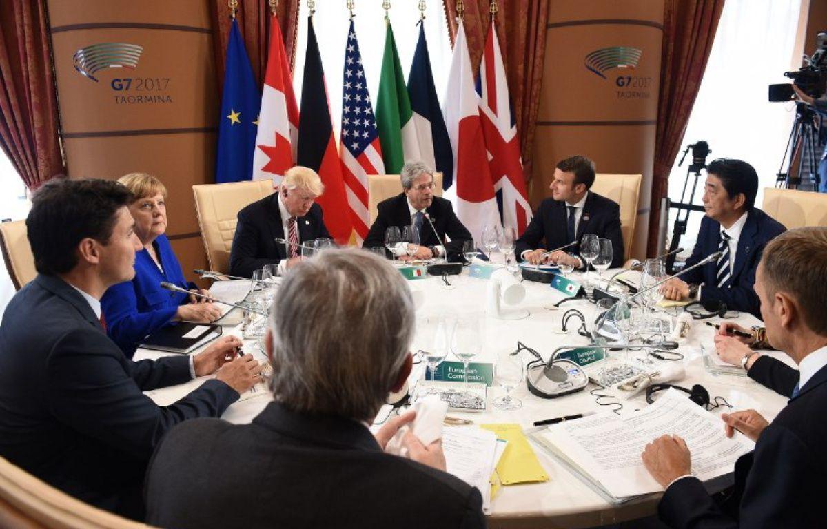 Les dirigeants du G7 réunis en Sicile. – Eliot BLONDET