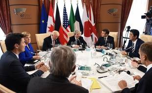 Les dirigeants du G7 réunis en Sicile.