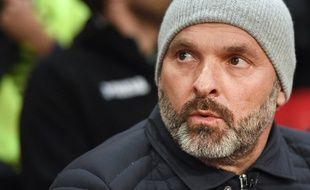 Pascal Dupraz a été victime d'une sensation de malaise et ne sera pas sur le banc de Toulouse lors du match contre Saint-Etienne, le 13 janvier 2018.