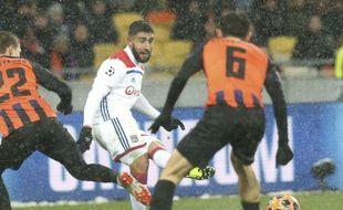 Nabil Fekir a qualifié l'OL grâce à son but clé en deuxième période.