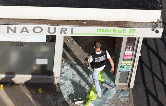 Un magasin casher a été le 20 septembre 2012 à Sarcelles (Val-d'Oise)
