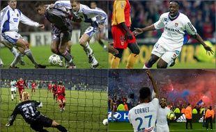 Bruges 2001, Lens 2002, Celtic Glasgow 2003 et OL-Monaco 2016 sont autant de matchs mémorables pour tous les supporters lyonnais.