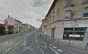 Le secteur bloqué par l'alerte à la bombe à Libourne.