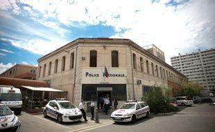 Marseille le 30 mai 2011 - Le commissariat de FŽlix Pyat situŽ au centre de la citŽ Bellevue