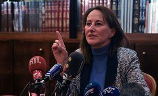 De nombreux journalistes étaient présents à Marseille, le 23 janvier 2020, pour une journée de campagne de Ségolène Royal aux côtés de Samia Ghali.