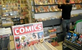 Les comics américains envahissent les rayonnages des librairies spécialisées.