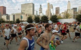 Le marathon de Chicago, l'un des six «majors».