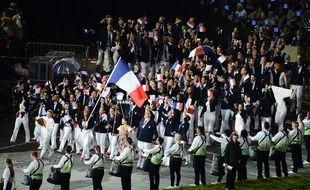 La délégation française aux JO de Londres en 2012.