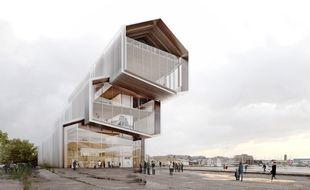 Le musée sera construit sur les quais de Saint-Malo.