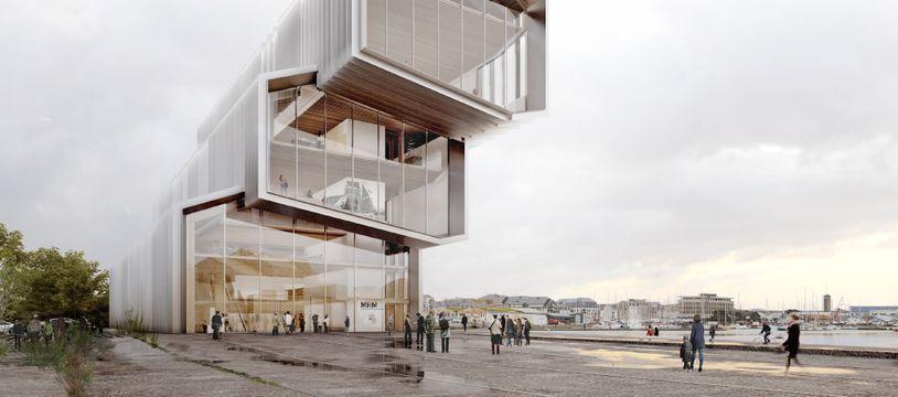 Le musée maritime devait être construit sur les quais de Saint-Malo.