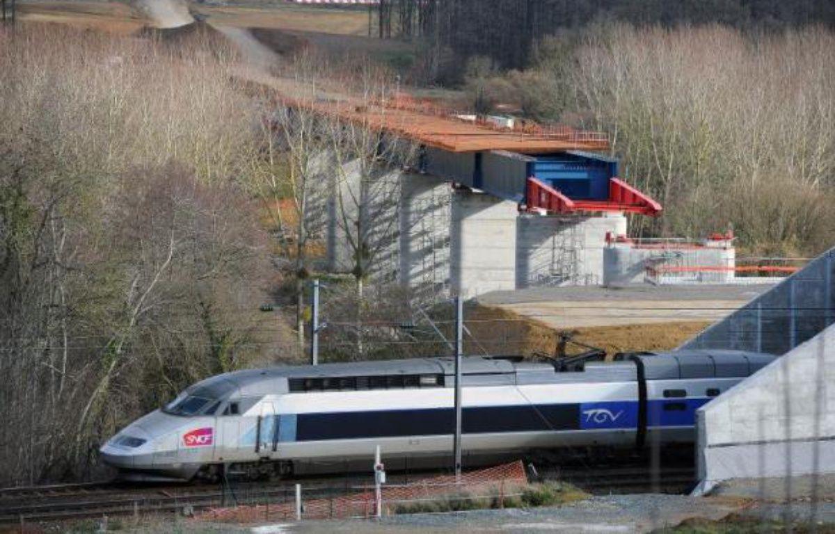 """Le réseau de lignes ferroviaires à grande vitesse en France est trop vaste et """"peu cohérent"""", avec une rentabilité en baisse et un coût """"devenu non soutenable"""", estime la Cour des comptes – Jean-Francois Monier AFP"""
