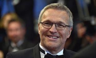 Laurent Ruquier, lors de la montée des marches du film «Juste la fin du monde», à Cannes, le 19 mai 2016.