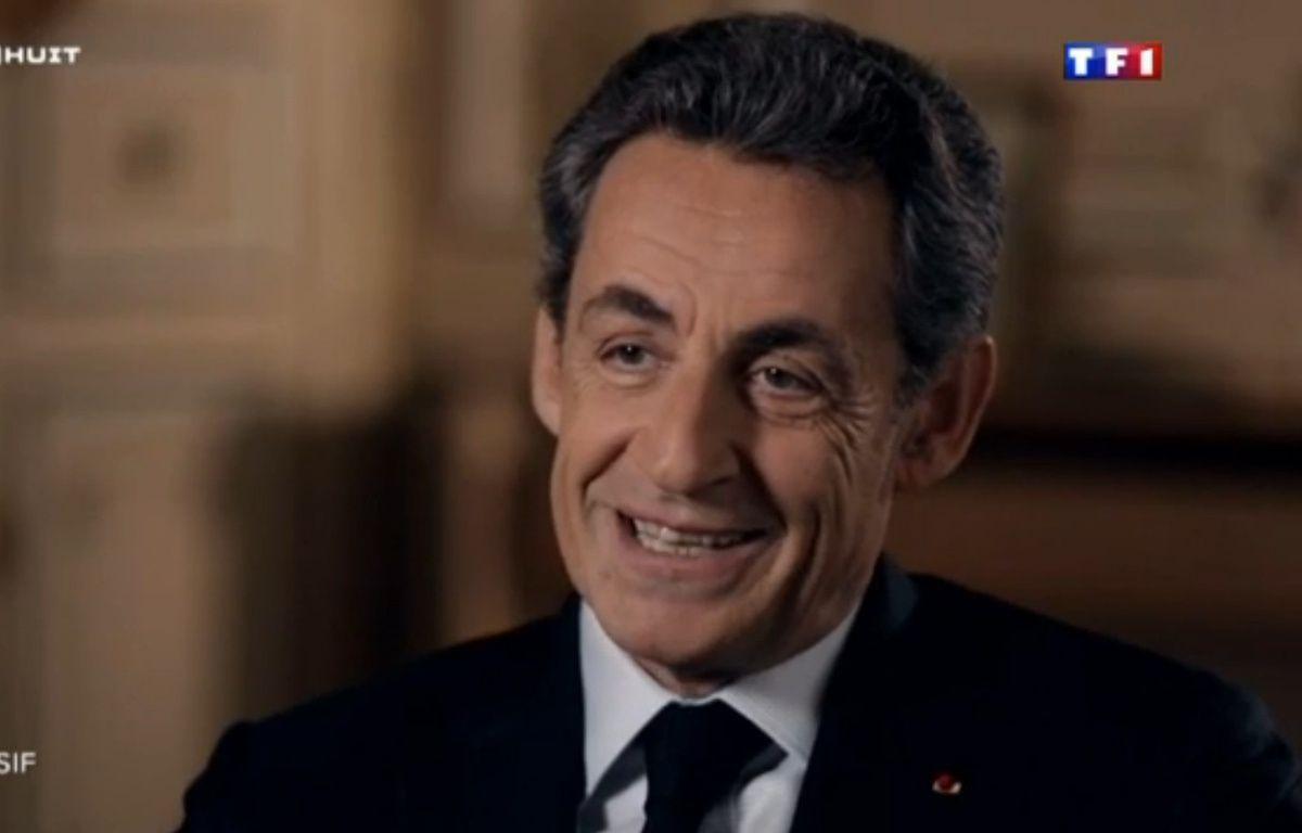 Nicolas Sarkozy dans l'émission Sept à Huit du 24 janvier 2016. – TF1