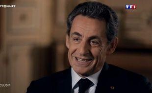 Nicolas Sarkozy dans l'émission Sept à Huit du 24 janvier 2016.